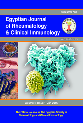 Egyptian Journal of Rheumatology and Clinical Immunology